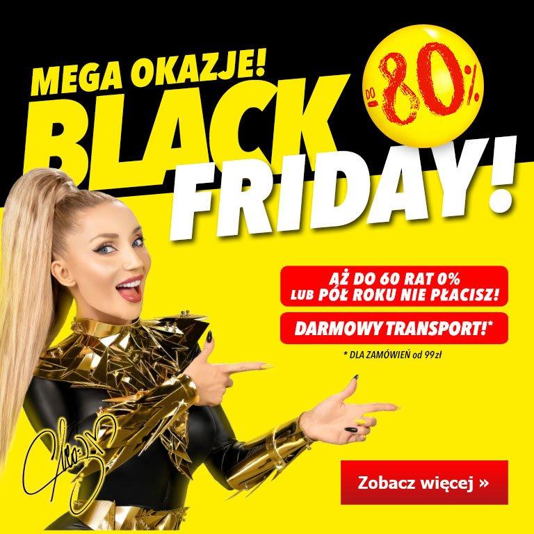 Black Friday do - 80 procent